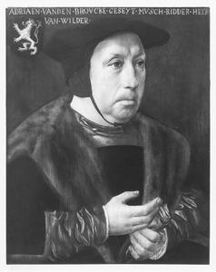 Portret van Adriaen van den Broucke, genaamd Musch, Heer van Wildert