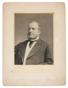 Portret van Adrianus Pieter Achenbach (1822-...)