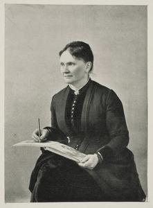 Portret van Marie Bilders-van Bosse (1837-1900)