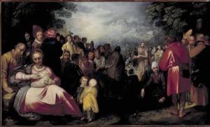 De prediking van Johannes de Doper (Lucas 3:1-15)