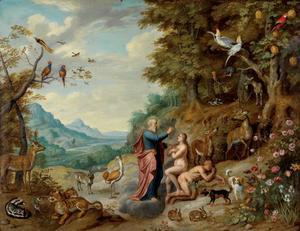 De schepping van Eva (Genesis 2: 21-23)