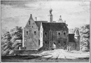 Voorzijde van de havezathe Saasfeld (of Saasveld of Saesveld) bij Ootmarsum