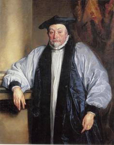 Portret van William Laud (1573-1645), aartsbisschop van Canterbury