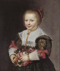Portret van een meisje, mogelijk Anna van Paffenrode (1625-1652)