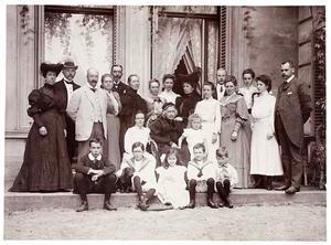 Portret van de familie Kneppelhout
