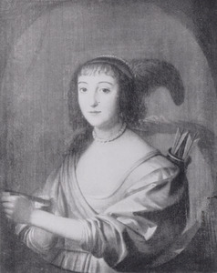 Portret van Elisabeth zu Salm-Salm (1620-?)