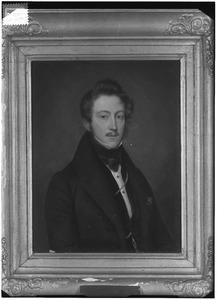 Portret van Willem van Lynden (1806-1866)