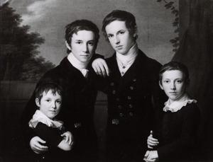 Portret van de kinderen van Hieronymus (Jerome) Sillem (1768-1833) en Wilhelmine Büsch (1772-1852)