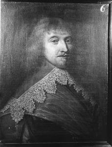 Portret van Pieter Pauw, kapitein in het Noord-Hollands regiment