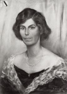 Portret van Harriet van Heerdt tot Eversberg (1895-1977)
