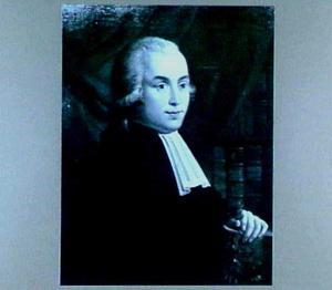 Portret van Steven Jan van Geuns (1767-1795), hoogleraar en directeur van de Hortus Botanicus in Utrecht 1791-1795