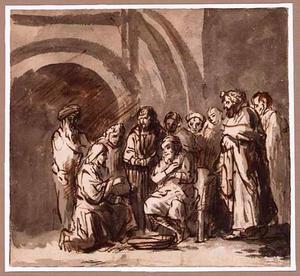 De voetwassing (Johannes 13:3-10)