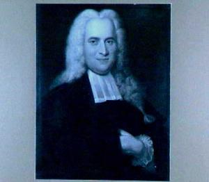 Portret van Christiaan Hendrik Trotz (1703-1773), hoogleraar in de Rechten in Utrecht 1755-1773