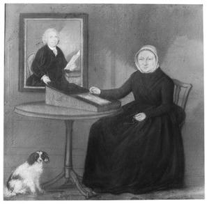 Portret van Eva Maria Adriana Buys (1735-1811)