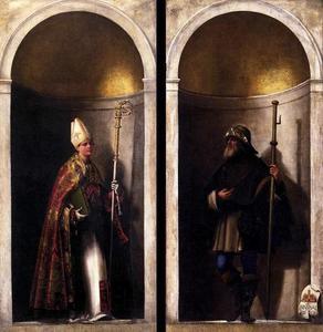 De HH. Lodewijk van Toulouse en Sinibaldus