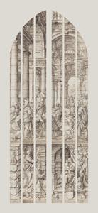 De twaalfjarige Jezus in de tempel (carton 13)
