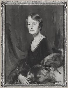Portret van Anna van Hangest barones d'Yvoy (1884-1961)