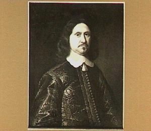 Portret van Willem van Lintelo (overleden 1658), heer van de Elze, schultis van Lochem, gecommiteerde van de Staten Generaal