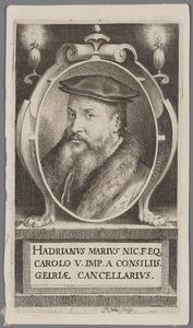 Portret van Hadrianus Marius Everardi (1505/1509-1568)