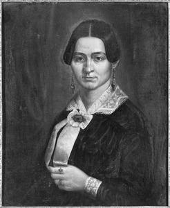 Portret van Theresia Derckson, echtgenote van Henricus Johannes Hageman