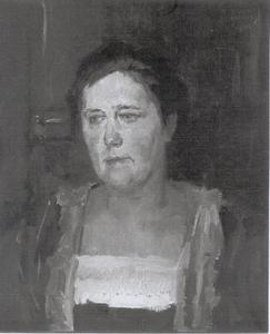 Portret van mw. A.C.G. Glerum-Rincker
