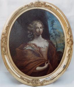 Portret van Anna Maria Cau ( -1694)