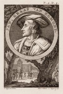 Portret van Jan van Egmond (1438-1516)