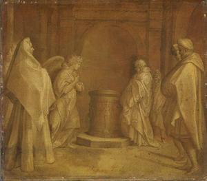 Annunciatie van de geboorte van Johannes de Doper