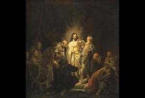 De ongelovige Thomas (Johannes 20: 24-29)