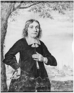Portret van Cornelis Cornelisz. Nomen (1651-1687)