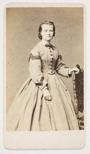 Portret van Woltera Geertruida van Limburg Stirum (1842-1904)