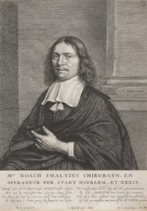 Portret van Noach Smalsius (1629-1685)