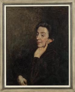 Portret van Elisabeth Theodora Johanna Jacoba Sara Hugoline van Beusekom (1849-1941)