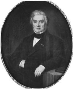Portret van Franz Victor Anton Baron von Wattenwyl (1795-1872)