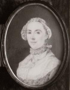 Portret van Maria Croon (1729-1799)