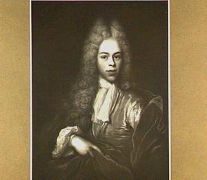 Portret van een man, mogelijk Nicolaas Six (1662-1710)