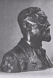 Portret van Carel Adolph Lion Cachet (1864-1945)