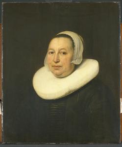 Portret van Maria Pietersdr. de Leest (....-1652)