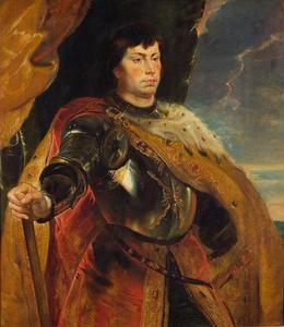 Portret van Karel 'de Stoute' van Bourgondië (1433-1477)