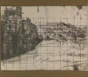 Rome, de Tiber ter hoogte van Castel Sant'Angelo ofwel de Engelenburcht