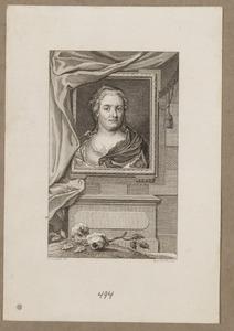 Portret van Maria Louise van Hessen -Kassel (1688-1765)