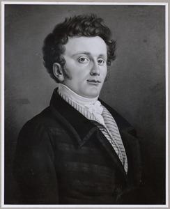 Portret van een man, waarschijnlijk Petrus Johannes Ameshoff (1788-1854)