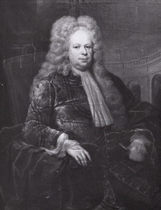 Portret van Johann Hallungius ( -1727)