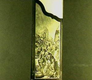 De inzameling van het manna (Exodus 16:17)