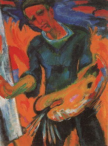 Portret van Johannes Dijkstra (1896-1978)