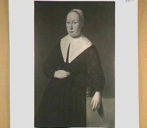 Portret van Antje Jeddema (1629-1660), echtgenote van Claes Fontein