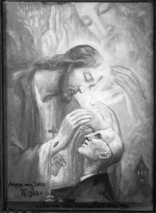 H. Drieeenheid met pastoor Kwakman door Christus gezegend