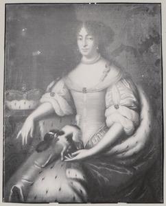 Portret van Dorothea van Holstein -Glucksburg (1636-1689)