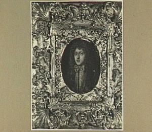 Portretminiatuur van Gerard Meerman (1650-1710), burgemeester te Leiden