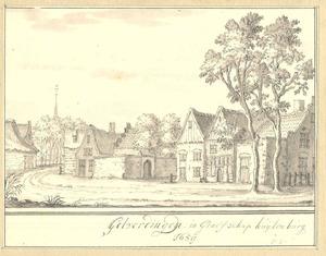Goilberdingen (gemeente Culemborg), gezicht in het dorp 1659
